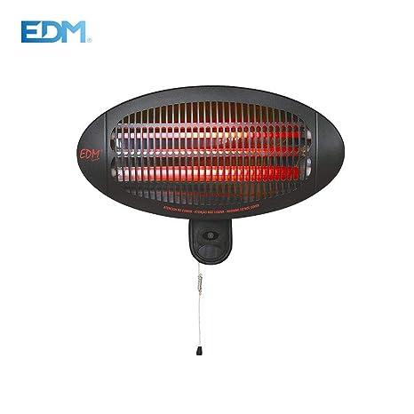 Estufa exterior 650-1300-2000W EDM