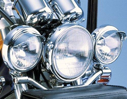 i5 4.5' Chrome Spotlight Visors for Honda Kawasaki Suzuki Yamaha i5 Motorcycle 4333014634