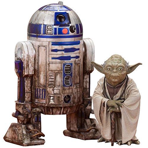 ARTFX+ ヨーダ & R2-D2 ダゴバパック 「スター・ウォーズ エピソード5/帝国の逆襲」 1/10 PVC塗装済み簡易組立てキット