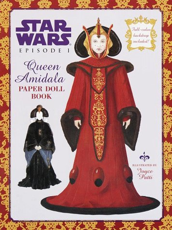 Queen Amidala Paper Doll (A Punch & Play