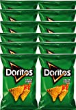 Doritos Salsa Verde Flavored Tortilla Chips 10 oz Bags (12)