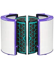 Dyson DP04 HP04 TP04 Pure Cool Purifier Fan Glass HEPA Filter & Inner Activated Carbon Filter