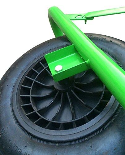 Charles-Bentley-DIY-Brouette-de-Jardin-Robuste-et-lgre-Acier-galvanis-90-L-175-kg