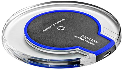 Price comparison product image Qi Wireless Charger Pad for All Qi enabled Phone and Smartphone: iPhone 8, 8 Plus, iPhone X/LG V30, G6, Fast Charger for Galaxy S8/S8+/S7/S7 edge/S6 edge+, and Note 5 (0)