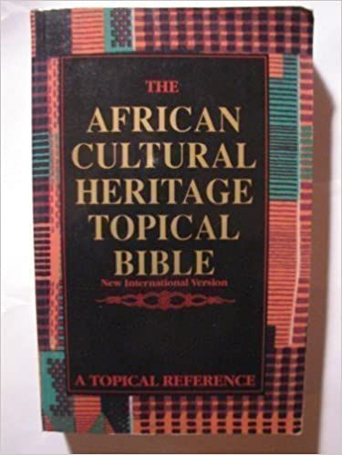 Book The African Cultural Heritage Topical Bible