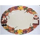 The Publix Pilgrim Pair Serving Platter