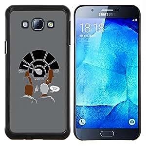 Stuss Case / Funda Carcasa protectora - Milenio Nave Espacial - Samsung Galaxy A8 A8000