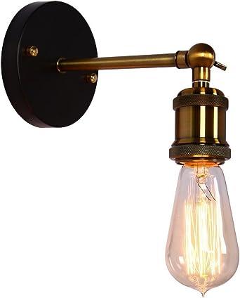 Lighting Parts Accessories Home Garden Retro Vintage Industrial Loft Wall Lamp Sconces Rustic Lighting Bedroom Fixtures Adrp Fournitures Fr