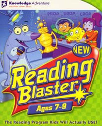 Reading Blaster Ages 7-9 Knowledge - Adventure Blaster Reading Knowledge