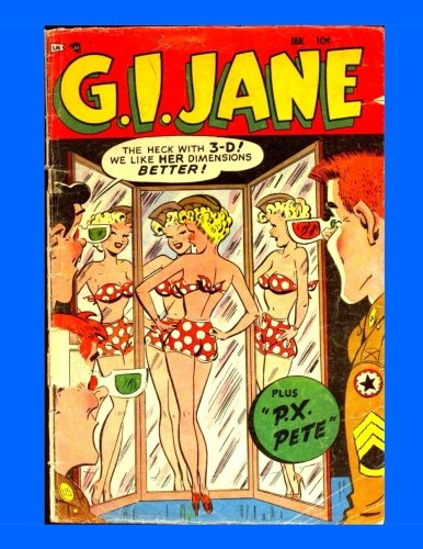 Read Online G.I. Jane #5: The Wackiest Wac - All Stories - No Ads ebook