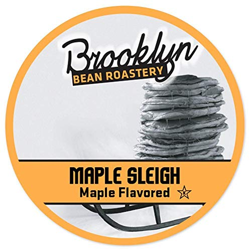 Brooklyn Beans Maple Sleigh Single Serve Coffee Cups, 24 Count
