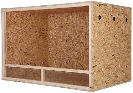 Tamaño grande de madera interior Reptile Vivarium terrario – – 150 x 80 x 80 cm – Ventilación Lateral – fácil instalación: Amazon.es: Hogar