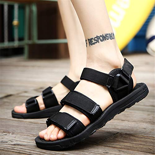 Sandal Men's spiaggia Magic 27 pantofole 0 Scarpe Sandali Outdoor Beach Sports CM da 5 Nero Wagsiyi Stick 24 Shoe Traspiranti w5Efxw