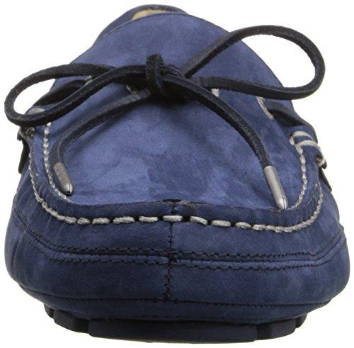 Sebago Manar Kedge Tie Slip-on Loafer Marinen Nubuck