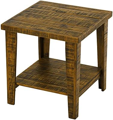 SLEEPLACE End Vintage Side Table, Brown