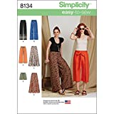 Simplicity 8134 Easy to Sew Women's Pants and