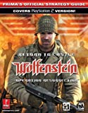 Return to Castle Wolfenstein: Operation Resurrection - PlayStation 2 (Prima's Official Strategy Guide)