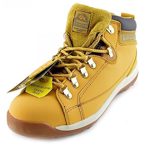 Zapatos MIEL unisex GR387 de Gr77 Seguridad Groundwork adultos 5wYX8Hqwx