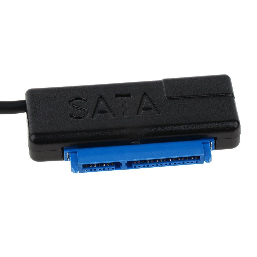 USB 3.0 a SATA Adaptador Convertidor para 2.5 HDD Unidad de Disco Duro