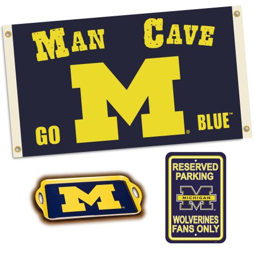 Man Cave Store In Michigan : Michigan serving tray wolverines