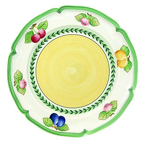 FRENCH GARDEN FLEURENCE DINNER PLATE PS (French Boch Dinner Garden)