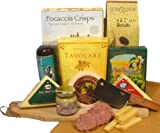 Delight Expressions Meat and Cheese Pleaser Gourmet Gift - A Gift Basket Idea!