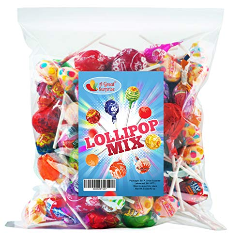 (Lollipop Mix - Assorted Variety - Bulk Candy - 2.5 Pounds )