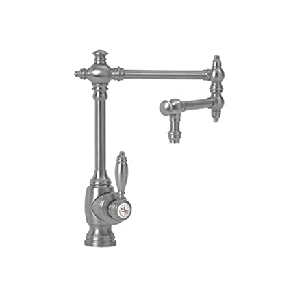 Waterstone 4100 12 AP Towson Single Handle Kitchen Faucet, Antique Pewter    Touch On Kitchen Sink Faucets   Amazon.com