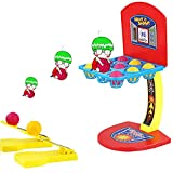 LING'S SHOP Mini Desktop Basketball Shooting Game Set Children's development and Tranning Gift Parent Child Family Shooter Fun & Sports Toy