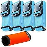 WeBravery Adjustable Luggage Strap Suitcase Belt
