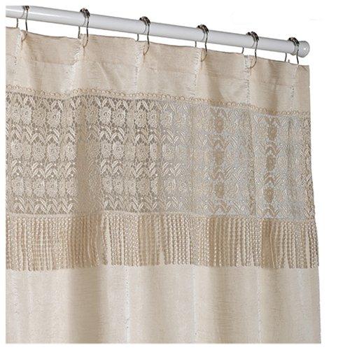 Amazon Croscill Macrame Shower Curtain Linen Home Kitchen