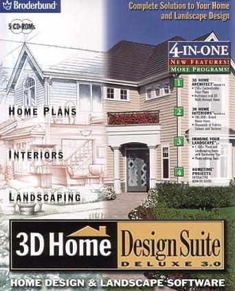 3D Home Design Suite Deluxe 3.0: Amazon.co.uk: Software