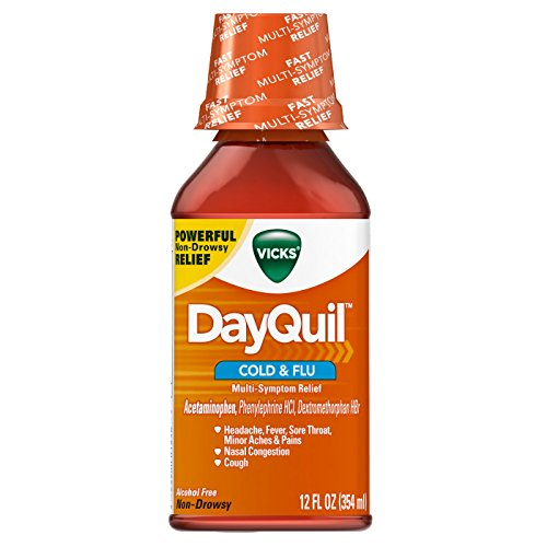 Vicks DayQuil Cold & Flu Liquid - 12 oz, Pack of ()