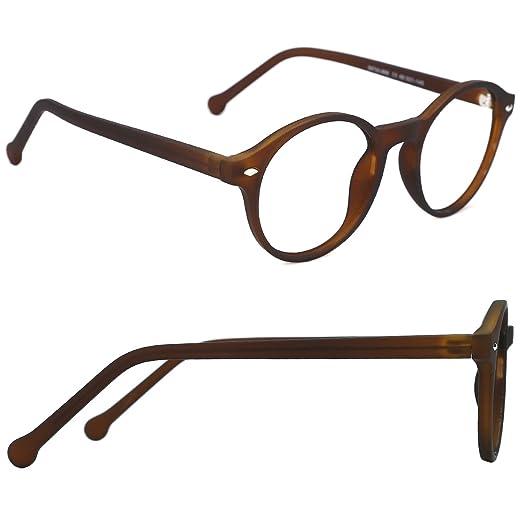 Amazon.com: TIJN - Gafas de sol clásicas redondas para ...
