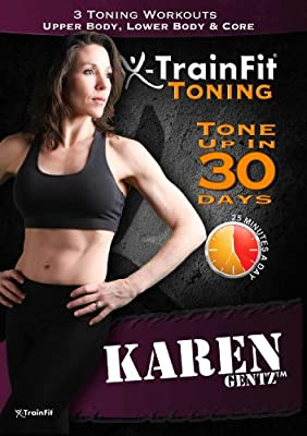 X-TrainFit Toning – DVD Workout Program with 3 exercise Videos with Fitness Super Sets