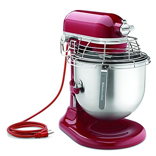 KitchenAid (KSMC895ER) 8-Quart Stand Mixer with Bowl Guard (Empire Red) (Kitchenaid Dynamic Deals compare prices)