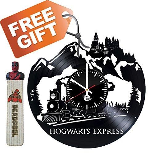 Harry Potter Movie Book Hogwarts Express Handmade Vinyl Reco
