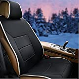 YAOHAOHAO 12V Heated Seat Cushion - Winter heating pad car hotter to read the seat of coverage