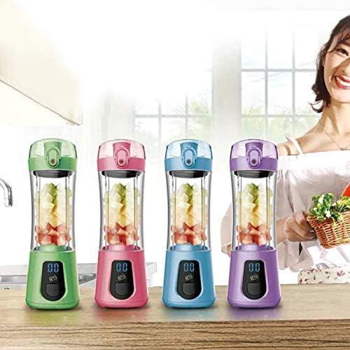 1 Pc Milkshake Machine Smoothie Makers Blenders Botella Fruit Juicer Exprimidor Recargable para Viajes