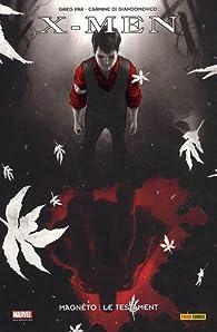 X-Men, Tome : Magnéto : le testament par Greg Pak