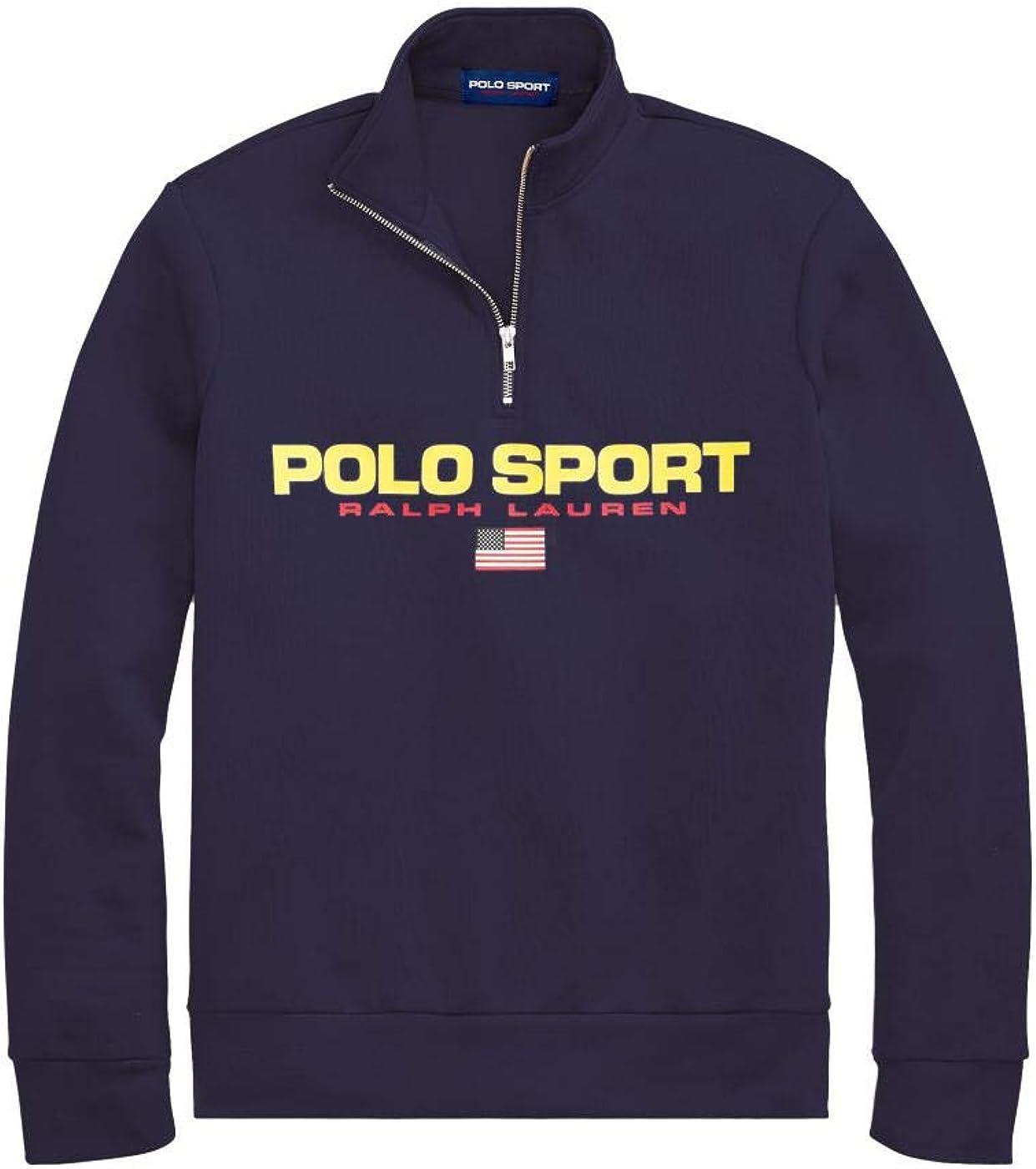 Felpa Ralph Lauren Polo Sport Marino Hombre S Azul: Amazon.es ...