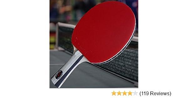 Gambler Reflectoid Professionnel 2.0 mm Table Tennis Rubber ITTF Approuvé Noir