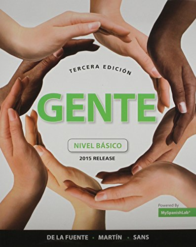 Gente Elementary MyLab Spanish Package for University of Massachusetts Amherst (2nd Edition)