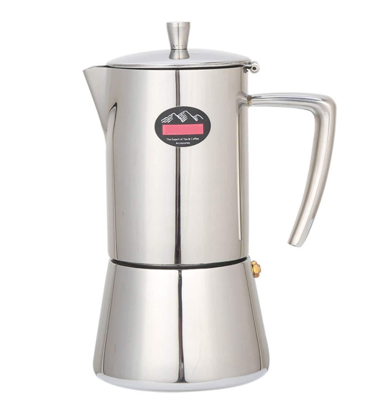 Huaishu Filtro De Acero Inoxidable Cafetera 4 Tazas Y 6 Tazas ...