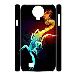 ALICASE Diy Case Scorpion Cover For Samsung Galaxy S4 i9500 [Pattern-1]