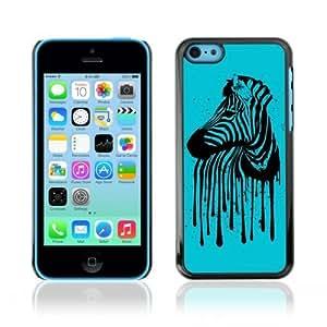 MMZ DIY PHONE CASEYOYOSHOP [Cool Zebra Stripes Art] Apple iphone 6 4.7 inch Case