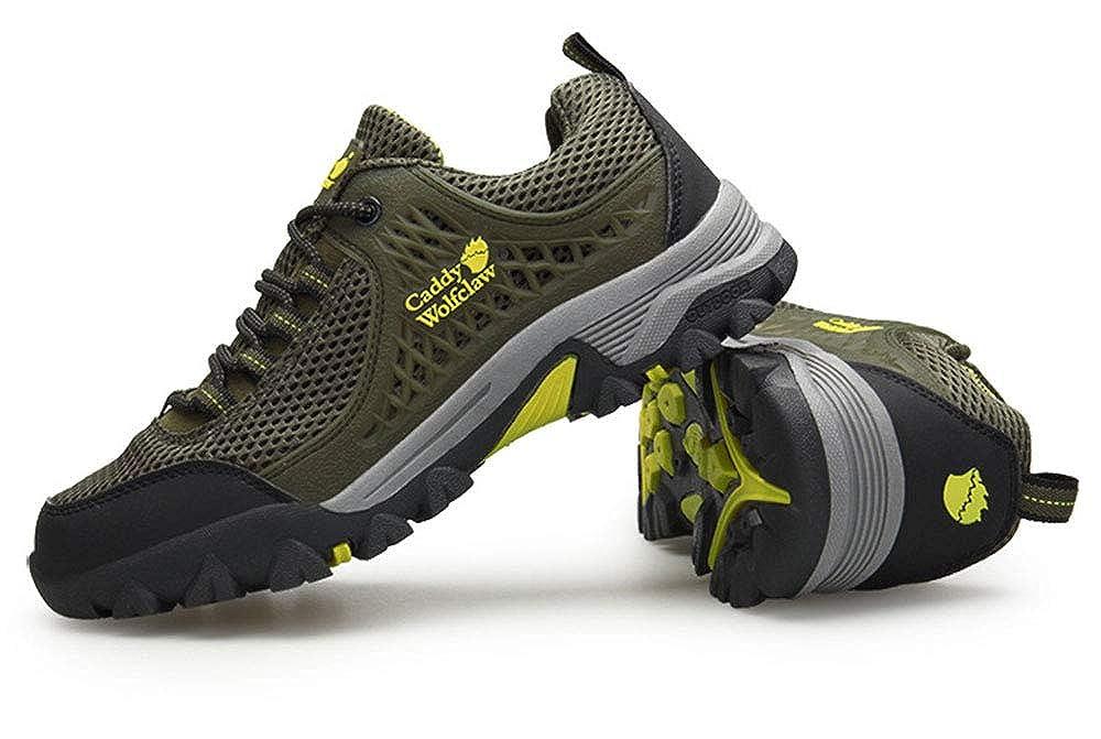 ZXLO Herren Wanderschuhe Outdoor Wanderschuhe Breathable Wanderschuhe Stiefel Wanderschuhe Laufschuhe Athletic Walking Gym Schuhe