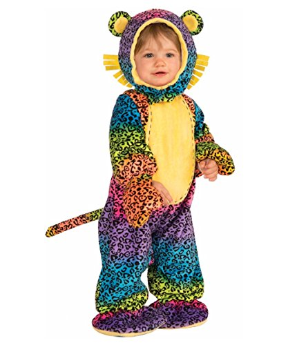 Forum Novelties Baby Boy's Lil' Party Animals Groovy Leopard Costume, Multi, Infant