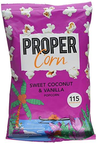 Propercorn Sweet Coconut /& Vanilla 90g