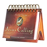 DaySpring Sarah Young's Jesus Calling, DayBrightener Perpetual Flip Calendar, 366 Days of Scripture (75621)